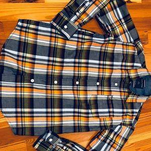 Nautical button down shirt, boys 10-12
